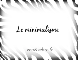 Article sur le minimalisme