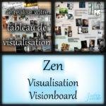 Pinterest Tableau sur la Visualisation pour découvrir plein de vision board