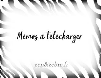 Article memos à télécharger sur le site Zen et Zebre par Audrey-Janvier-Image-Title