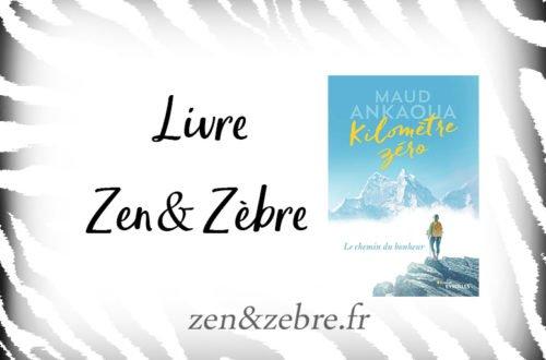 Chronique du livre Kilomètre zéro de Maud Ankaoua - roman de développement personnel par Zen et Zèbre