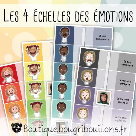 Bougribouillons Echelle a emotions