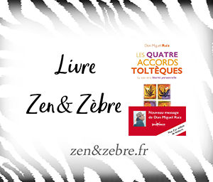 Chronique du livre les 4 accords toltèques de Don Miguel Ruiz - livre pratique de développement personnel par Zen et Zèbre