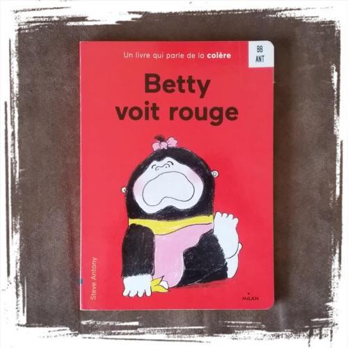 Betty Voit Rouge de Steve Antony