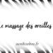Le massage des oreilles - Article Zen & Zèbre